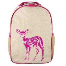 SoYoung Pink Fawn Toddler Backpack
