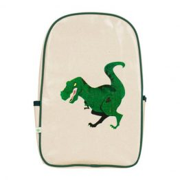 Apple & Mint Dinosaur Little Kid Backpack