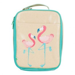 Apple & Mint Flamingo Lunch Bag