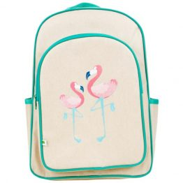 Apple & Mint Flamingo Big Kid Backpack