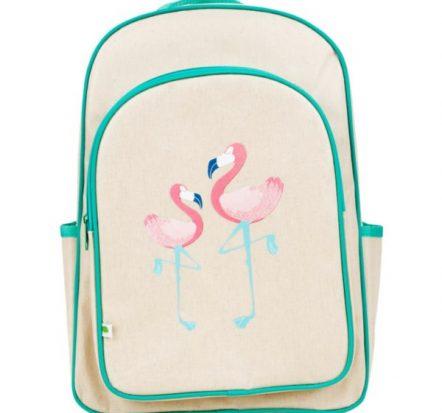 Apple & Mint Flamingo Big Kid Backpack