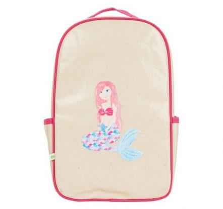 Apple & Mint Mermaid Little Kid Backpack