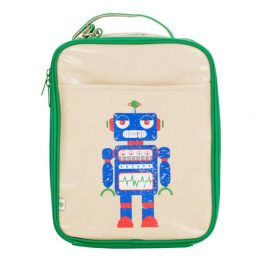 Apple & Mint Robot Lunch Bag