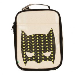 Apple & Mint Superhero Yellow Lunch Bag