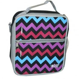 Fridge To Go Medium - Chevron Pink
