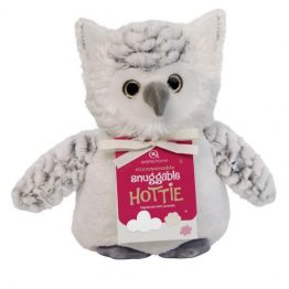 Aroma Home Snow Owl Snuggable Hottie