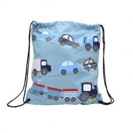 Bobble Art Cars Library Swim Bag ~ New Design