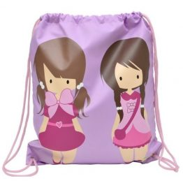 Bobble Art Swim Bag / Library Bag Dolls