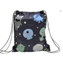 Bobble Art Swim Bag / Library Bag Monsters