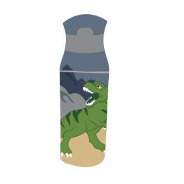 Bobble Art Dinosaur Tritan Plastic Drink Bottle