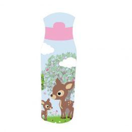 Bobble Art Woodland Tritan Plastic Drink Bottle