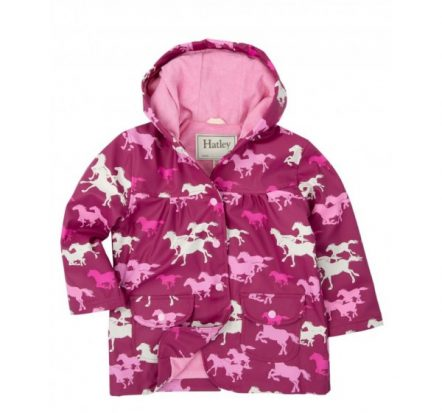 Hatley Girls Fairy Tale Horses Raincoat