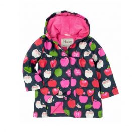 Hatley Girls Nordic Apples Raincoat