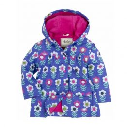 Hatley Girls Nordic Flowers Raincoat