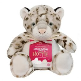 Aroma Home Snow Leopard Snuggable Hottie