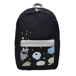 Bobble Art Monsters Coated Backpack