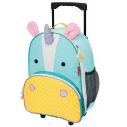 Skip Hop Zoo Unicorn Rolling Luggage