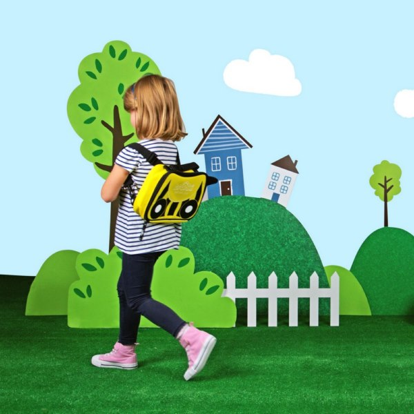 Trunki 2 in 1 Yellow Lunch Bag Backpack - Kids Bags 6c88b8a549