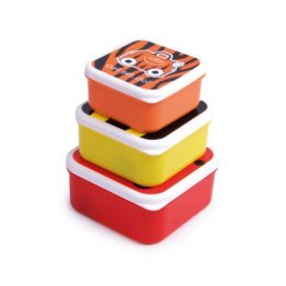 Trunki Animal Range Snack Pots Set of 3