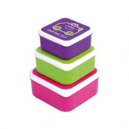 Trunki Pink Snack Pots Set of 3