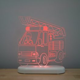 Aloka Sleepy Light USB LED Night Light Fire Engine