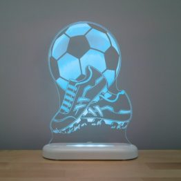 Aloka Sleepy Light USB LED Night Light Football Boots