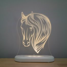 Aloka Sleepy Light USB LED Night Light Horse Head