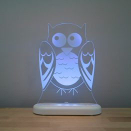Aloka Sleepy Light USB LED Night Light Owl