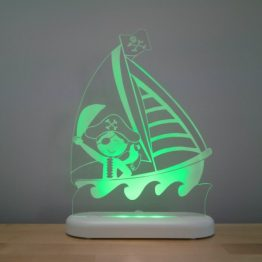 Aloka Sleepy Light USB LED Night Light Pirate Ship