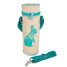 SoYoung Water Bottle Bag Aqua Bunny