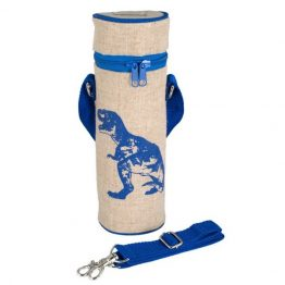 SoYoung Water Bottle Bag Blue Dino