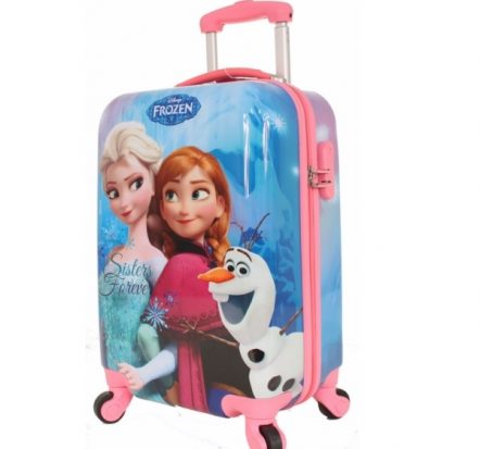 Disney Frozen Sisters Forever Hard Shell 19 Inch Suitcase