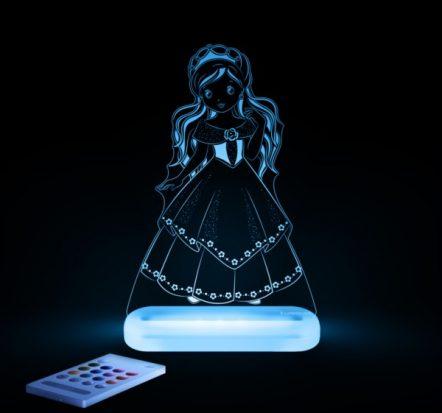 Aloka Princess LED Sleepy Light USB Night Light