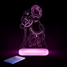 Aloka Princess & Pony LED Sleepy Light USB Night Light