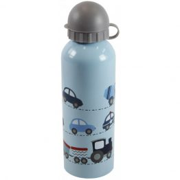 Bobble Art Stainless Steel Drink Bottle Cars