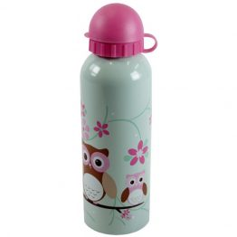 Bobble Art Stainless Steel Drink Bottle Owl