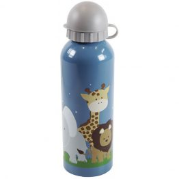 Bobble Art Stainless Steel Drink Bottle Safari