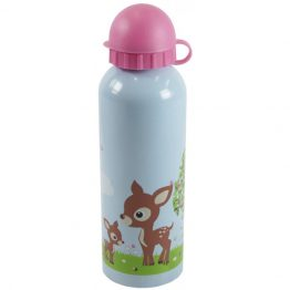 Bobble Art Stainless Steel Drink Bottle Woodland