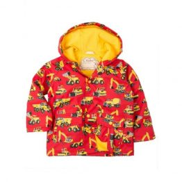 Hatley Boys Heavy Duty Machines Raincoat