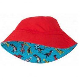 Hatley Boys Reversible Sun Hat Roaring T Rex