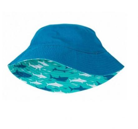 Hatley Boys Reversible Sun Hat Toothy Sharks