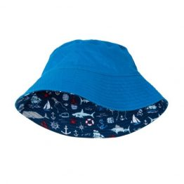 Hatley Boys Reversible Sun Hat Vintage Nautical