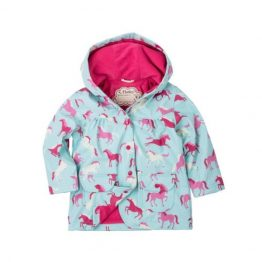 Hatley Girls Ponies & Polka Dots Raincoat