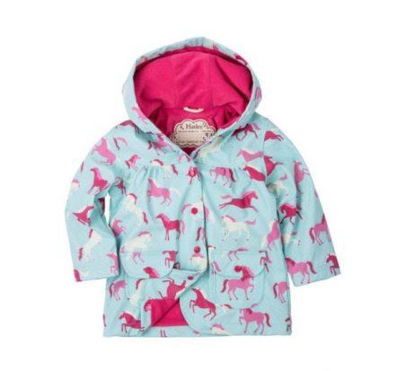 Hatley Girls Ponies & Polka Dots Raincoat