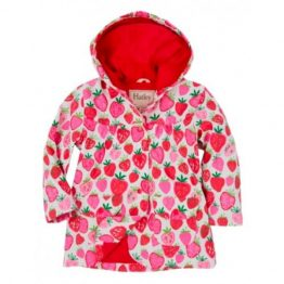 Hatley Girls Strawberry Sundae Raincoat