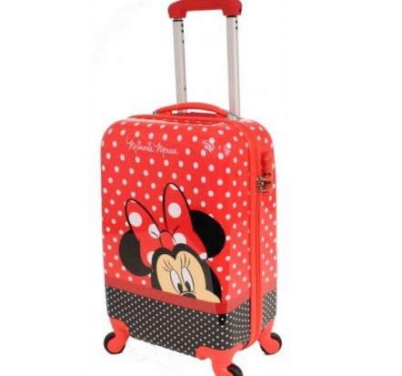 Disney Minnie Mouse Hard Shell Suitcase