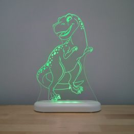 Aloka T Rex LED Sleepy Light USB Night Light with Remote