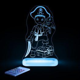 Aloka Pirate Boy LED Sleepy Light USB Night Light