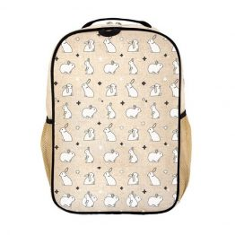 SoYoung Grade School Backpack Bunny Tile