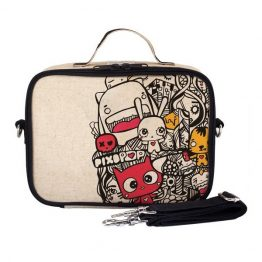 SoYoung Eco Linen Lunch Box Pixopop Pishi